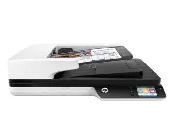 HP Scanjet pro 4500 fn1 Network Scanner Europe-Multilingual