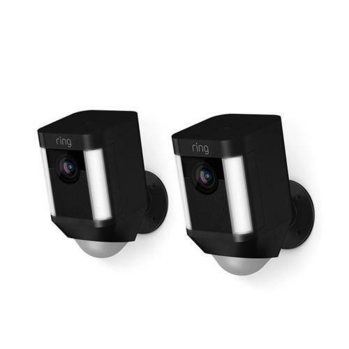 Ring Cam Battery- Black - 2 Pack Hard Bundle