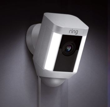 Ring Hardwired Cam - White