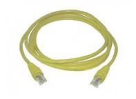 Yellow Cable for Ethernet, Straight-through, RJ-45, 6 feet